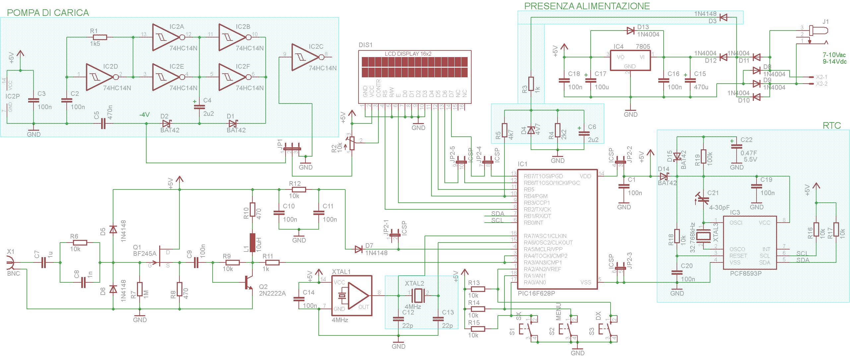 Schema Collegamento Orologio Elettromeccanico : Schema collegamento orologio vemer